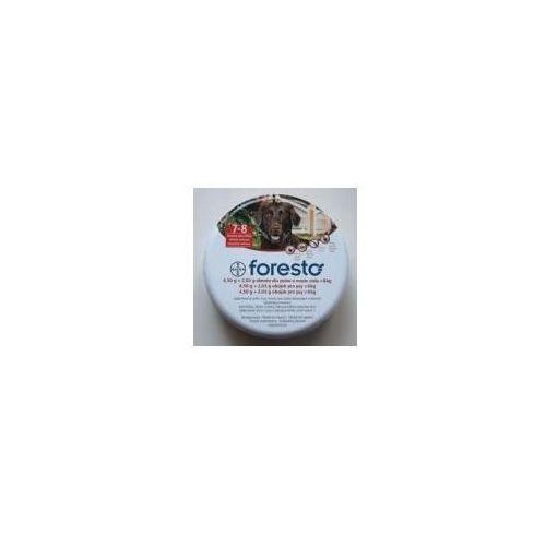 Foresto - dł 70 cm - obroża przeciwko pchłom i kleszczom dla psów o masie ciała > 8 kg marki Bayer