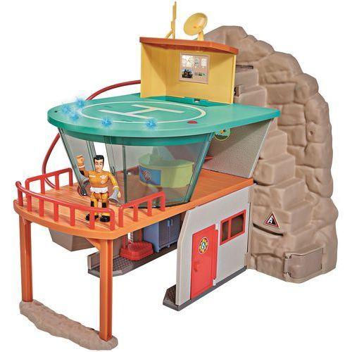 Simba Strażak Sam Stacja ratownictwa górskiego Remiza ze światłem i dźwiękiem