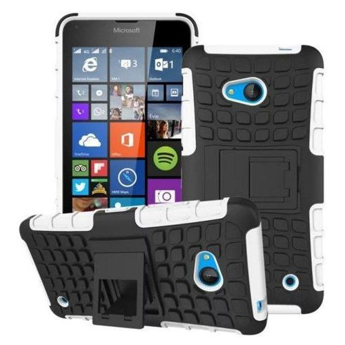 Pancerna obudowa etui Perfect Armor Microsoft Lumia 640 Biała - Biały