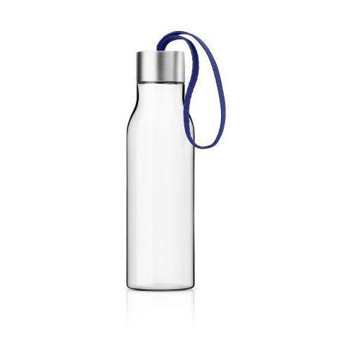 Eva solo Butelka na wodę z troczkiem electric blue, 0,5 l -