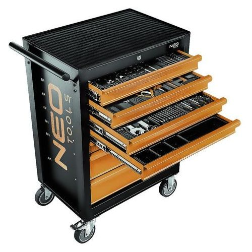 Neo 84-222+g szafka warsztatowa 7 szuflad z 10 wkładkami (5907558425857)