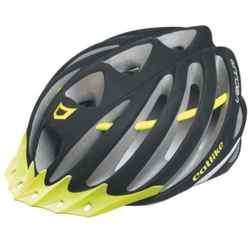 Catlike vacuum - kask rowerowy (czarno-żółty fluorescencyjny)