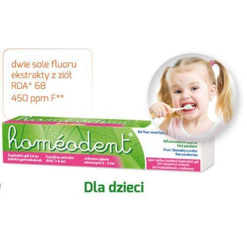 Homeodent ochrona zębów mlecznych żel truskawkowo-malinowy 50ml marki Boiron