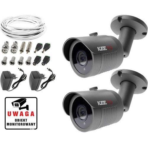 Monitoring kamera LV-AL30HT 2x kamera IR30m Ivel electronics Akcesoria, ZM8633