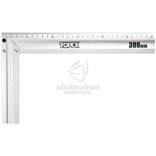 Kątownik TOPEX 30C364 budowlany aluminiowy 350 x 190 mm (5902062893642)