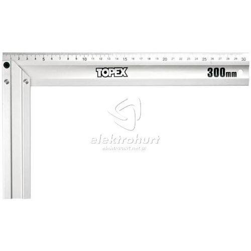 TOPEX Kątownik budowlany aluminiowy 350 x 190 mm 30C364 (5902062893642)