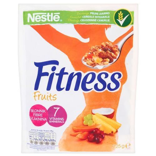 Nestle Płatki śniadaniowe nestlé fitness fruits 225 g