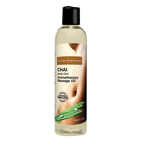 Herbaciany olejek do masażu -  chai massage oil 240 ml marki Intimate organics