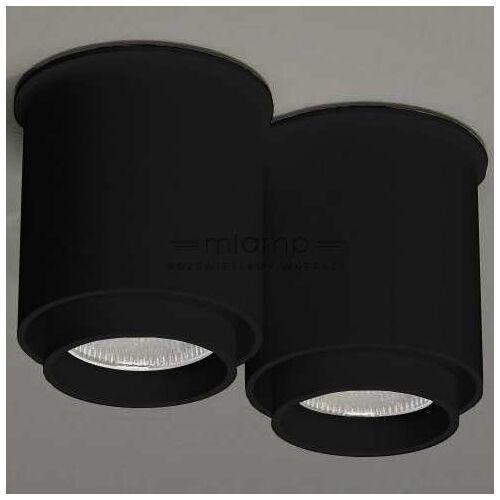 Shilo Downlight lampa sufitowa iga 1116 metalowa oprawa natynkowa tuby czarne