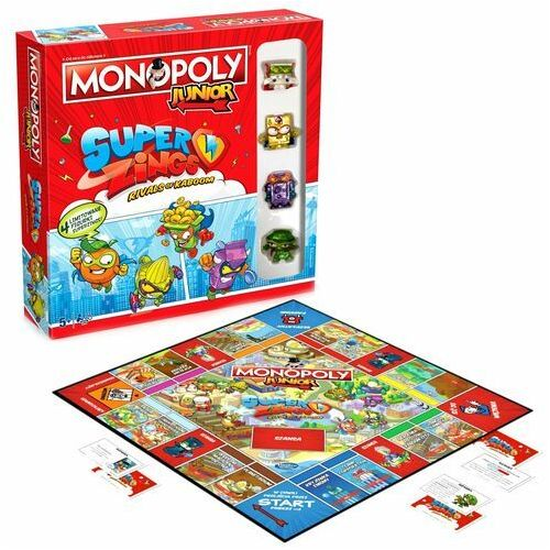 Winning moves Winning monopoly junior superzings 00480