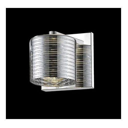 kinkiet PIOLI srebrny klosz, ZUMA LINE W0369-01A-B5GW