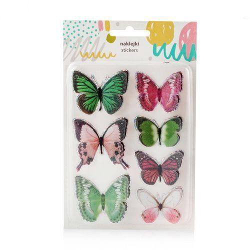 Komplet Naklejek Butterflies