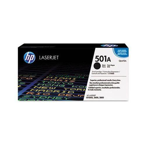 Toner Oryginalny 501A Czarny do HP Color LaserJet 3600 N - DARMOWA DOSTAWA w 24h