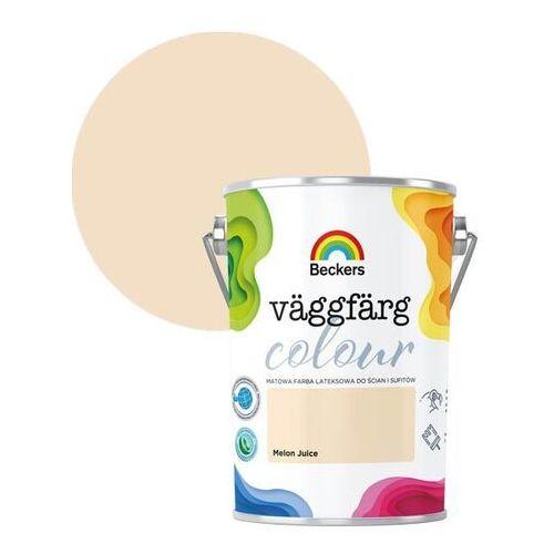 Farba lateksowa Beckers Vaggfarg Colour melon juice 5 l (5902829022049)