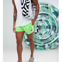 Ellesse swim shorts with small logo in fluro green - green