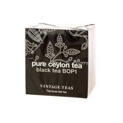 pure ceylon tea - black tea bop1 70g marki Vintage teas