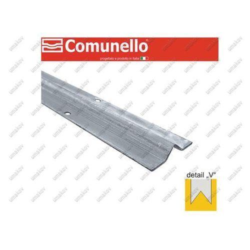 Prowadnica spodnia - V -COMUNELLO INOX, L3m