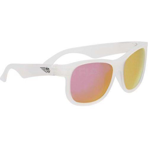 Babiators Aces Aviator Okulary przeciwsłoneczne dla dzieci (07-14) Białe/Niebieskie szkła