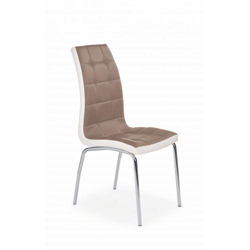 Halmar K186 krzesło cappuccino - biały