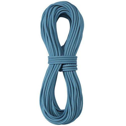 Edelrid Skimmer Pro Dry Lina wspinaczkowa 7,1mm 60m niebieski 2018 Liny połówkowe (4052285499006)