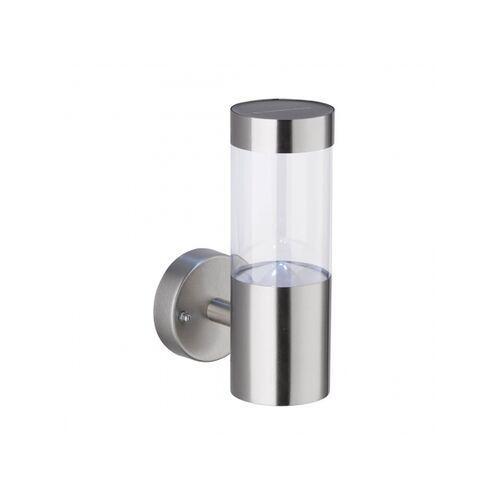 Wofi AMALFI Zewnętrzny kinkiet LED Stal nierdzewna, 1-punktowy - Nowoczesny - Obszar zewnętrzny - AMALFI - Czas dostawy: od 3-6 dni roboczych (4003474331331)