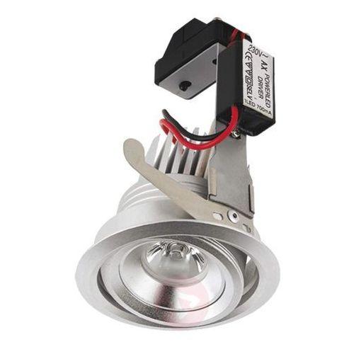 Elastyczna lampa wpuszczana LED MIA ciepło-biała