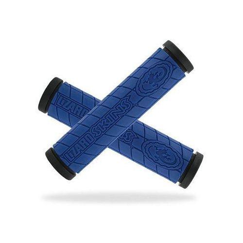 Chwyty kierownicy logo dc 30,5x130 mm, niebieskie marki Lizard skins