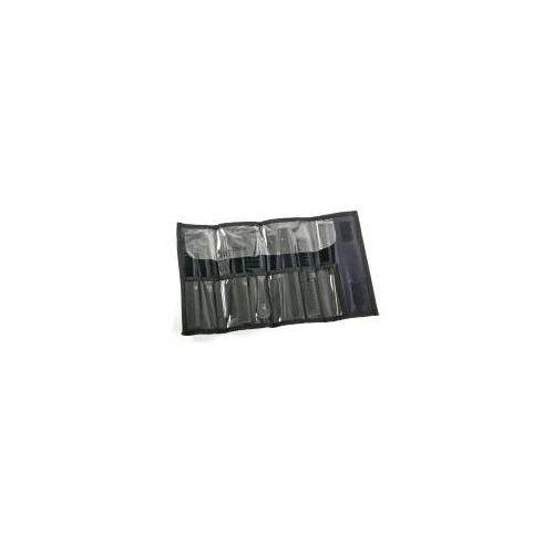 Fox Line Black, zestaw grzebieni w etui, 9 szt. (5904993463451)