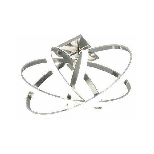 Eglo Plafon selvina 96306 lampa oprawa sufitowa 1x12w +1x14w led chrom/biały