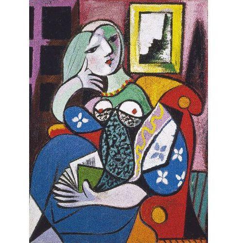 , puzzle picasso kobieta z książką marki Piatnik
