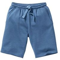 Szorty dresowe bonprix niebieski dżins, kolor niebieski