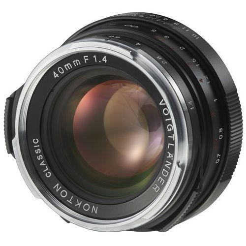 Obiektyw 40 mm f/1.4 nokton classic mc (leica m) marki Voigtlander