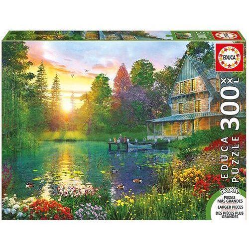Puzzle 300 elementów, xxl sunset with grandpa - darmowa dostawa od 199 zł!!! marki Educa