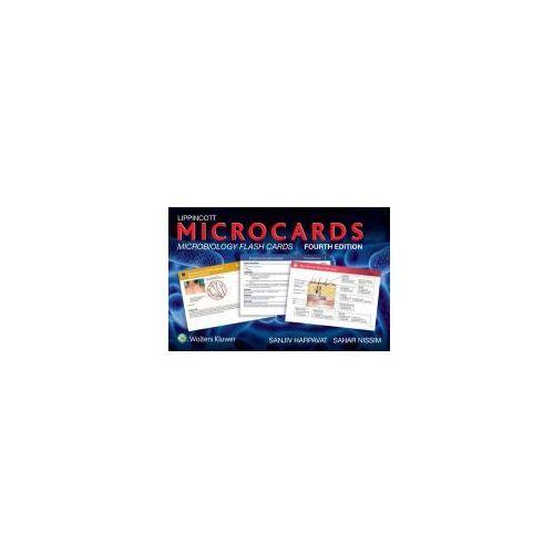 OKAZJA - Lippincott Microcards: Microbiology Flash Cards