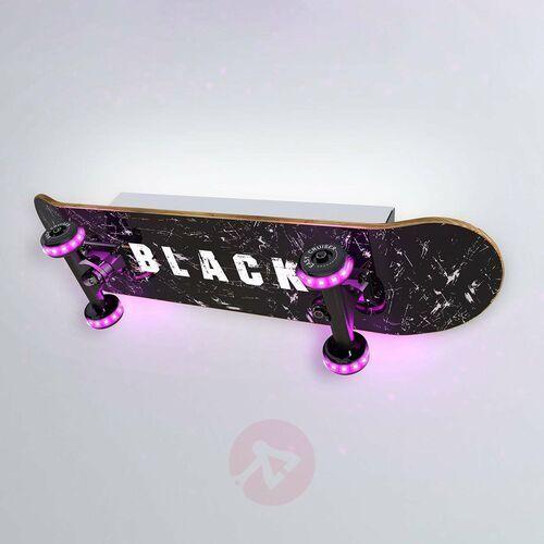 Evotec Kinkiet led skateboard easy cruiser black (4012676157427)