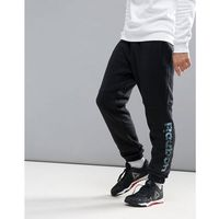 fleece joggers - black, Reebok, M-L