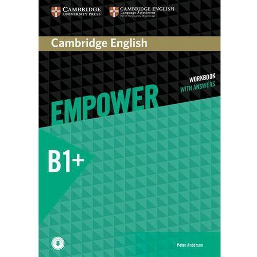 Empower Intermediate. Ćwiczenia z Odpowiedziami + Downloadable Audio, Cambridge University Press
