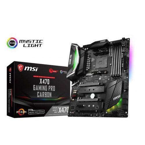 Msi x470 gaming pro carbon 4ddr4 usb3.1/2m.2/8sata3
