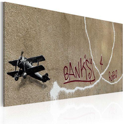 Obraz - miłosny samolot (banksy) marki Artgeist