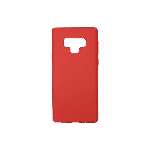 Samsung Galaxy Note 9 - Mercury Goospery Soft Feeling - czerwony, kolor czerwony