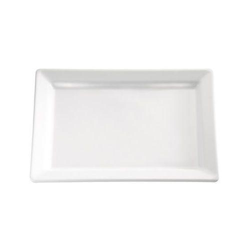Aps Półmisek prostokątny z melaminy 300x210 mm, biały | , pure