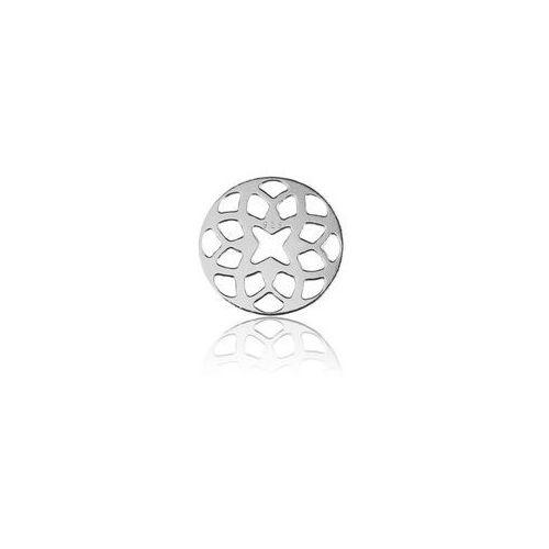 Zawieszka - łącznik, Ażurowa rozeta np. do łapacza snów, srebro 925 BL 189, BL 189