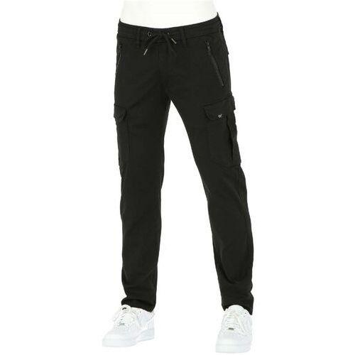 Reell Spodnie - cargo tech pant flex black (flex black) rozmiar: l normal