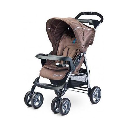 Caretero Monaco NOWOŚĆ 2016 wózek spacerówka brown z kategorii Wózki spacerowe