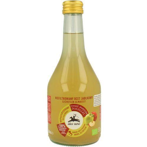 Alce nero (włoskie produkty) Ocet jabłkowy niefiltrowany bio 500 ml - alce nero