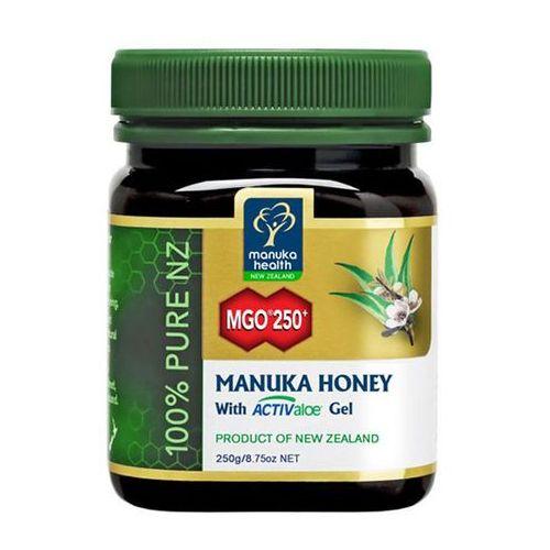 Manuka health Miód manuka 250+ z żelem activaloe 250g