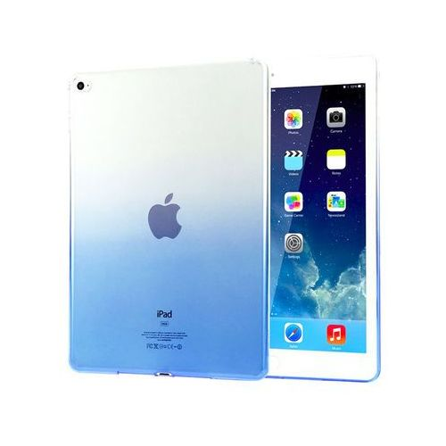 Alogy Etui ombre case apple ipad air 2 silikonowe niebieskie - niebieski