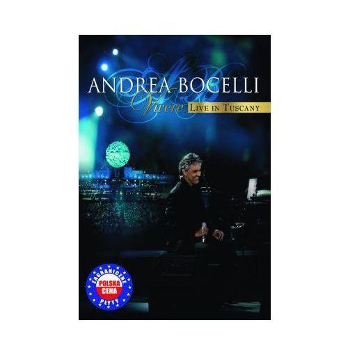 Vivere - Live In Tuscany (Polska cena) (Jewelcase) (DVD) - Andrea Bocelli