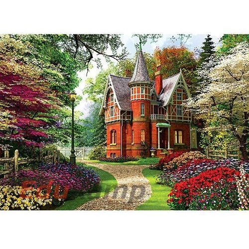 Puzzle 1000 wiktoriański dom marki Trefl