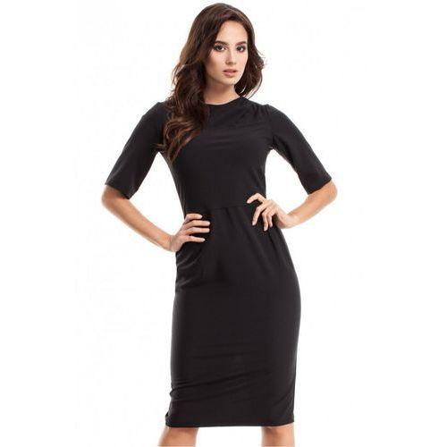 Sukienka Model MOE276 Black, kolor czarny